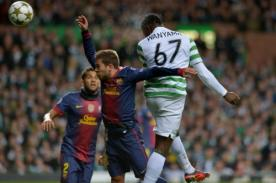Minuto a Minuto Celtic vs Barcelona (0-1) en vivo por Fox Sports - Champions 2013