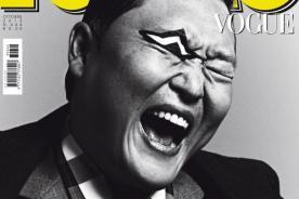 PSY el primer artista coreano como portada de Vogue en Italia