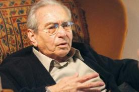 Julio Cotler: No existe la izquierda, solo agrupaciones que no tienen futuro