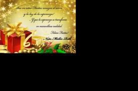 Cortos mensajes de Navidad para enviar a tus amigos