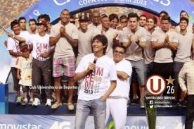 Universitario: Ángel Comizzo le dedicó el título a la Trinchera Norte