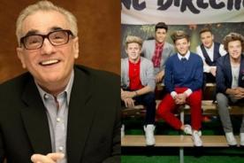 Martin Scorsese se declara fan de One Direction