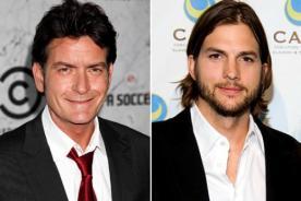 Charlie Sheen arremete contra Ashton Kutcher