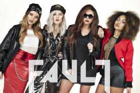 Little Mix: Leigh Anne con prominente escote para la revista Fault (Fotos)