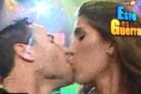 Esto es Guerra: Vanessa Tello y Eyal Berkover se dieron un beso