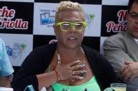 Lucía de la Cruz se sacude de acusasiones de estafa