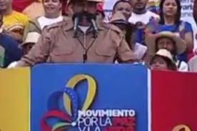 Nicolás Maduro: Que viva la Cultura y el Carnaval venezolano - VIDEO