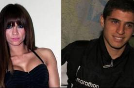 Giannina Luján y el futbolista Aldo Corzo se comen a besos - FOTOS