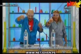 Experimentores: Natalia Málaga soltó lisura en pleno experimento (Video)