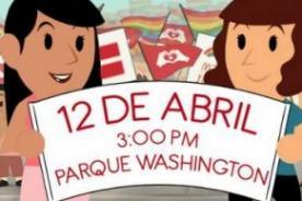 Personajes públicos invitan a personas a la marcha de la Unión Civil