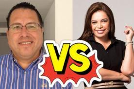 Phillip Butters vs. Milagros Leiva: Se enfrentaron en Twitter por comentarios racistas