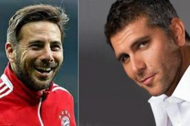 Christian Meier a Claudio Pizarro: 'Yo sabía que pateabas con las dos piernas' - FOTOS