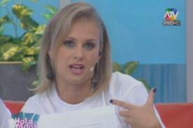 Rossana Fernández Maldonado sugiere a Yaco Eskenazi que pida disculpas