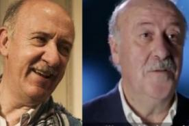 ¿Gemelos? Mira el parecido físico de Vicente del Bosque con Gianfranco Brero