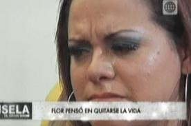 Florcita Polo aseguró que quiso suicidarse tras ampay de Néstor [VIDEO]