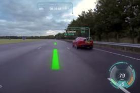 Luna de autos podrán verse como si fuera interfaz de videojuego [VIDEO]