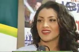Michelle Soifer confiesa relación con conocido futbolista peruano