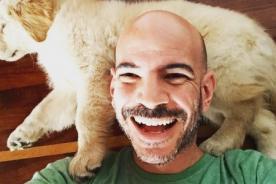 Ricardo Morán comparte increíble foto con cabello