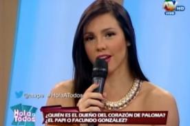 Combate: ¡Paloma Fiuza reveló detalle de su 'ampay' con Eduardo Pastrana! - VIDEO