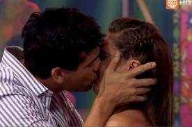 Joselito Carrera se despide de América Televisión con tremendo beso a Katty García - FOTO