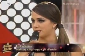 El Gran Show: ¿Diego Chávarri agredió físicamente a Melissa Klug?