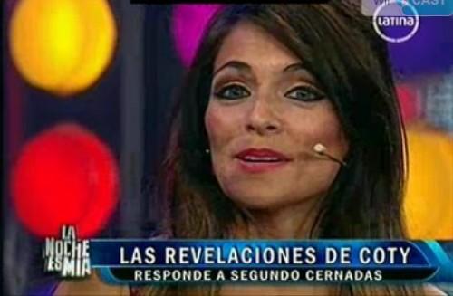 Coty Álvarez a Segundo Cernadas: Poco hombre