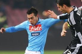 Fútbol italiano: Eduardo Vargas se lesiona y estará tres semana fuera