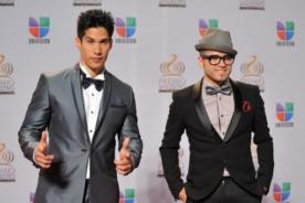 Chino y Nacho felices por éxito de conciertos en Estados Unidos