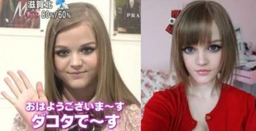 Barbie humana Kota Koti era un fraude y muestran su real apariencia