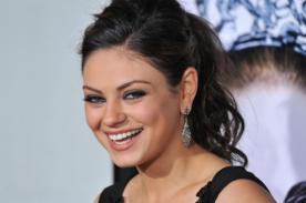 Mila Kunis: No siento vergüenza en reírme de lo absurdo