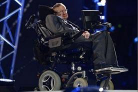 Stephen Hawking en inauguración de los Paralímpicos Londres 2012