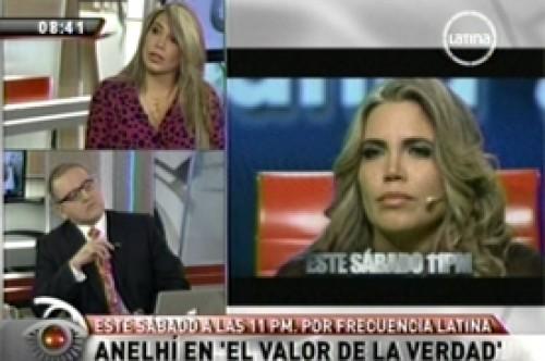 Anhelí Arias explica por qué se confesó en 'El valor de la verdad'