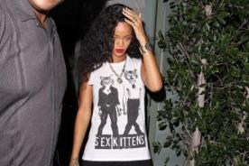 Rihanna cantó con Coldplay en París - Videos