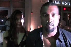 Kanye West perdió los papeles con paparazzi