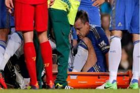 Premier League: John Terry fuera del Chelsea por tres semanas