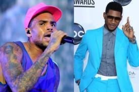 AMA 2012: Chris Brown VS Usher en 'Artista Masculino Favorito - SoulR&B'