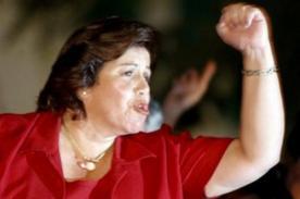 Lourdes Flores: Es la primera vez que celebro una victoria