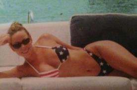 Mariah Carey celebra el 4 de julio con sexy bikini patriótico
