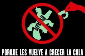 Protestas contra la 'repartija' se realizarán por todo el Perú