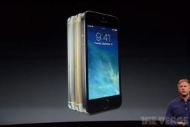 Apple lanza Iphone 5S con nuevo sistema operativo IOS 7