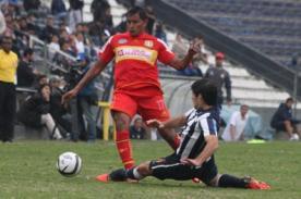 Resultado del partido: Sport Huancayo vs Alianza Lima (1-1) – Descentralizado 2013