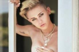 Miley Cyrus: Prefiero mostrarme desnuda antes que llorando