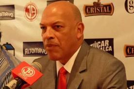 Roberto Mosquera: Tenemos con que hacerle frente a Universitario