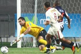 Universitario tiene la valla segura con José Carvalho bajo los tres palos