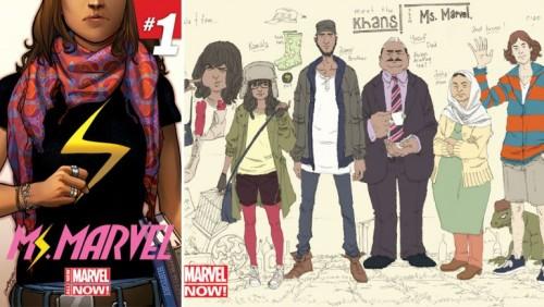 Nueva heroína de Marvel será una adolescente musulmana - FOTOS