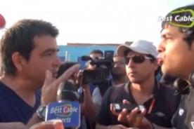 Video: Claudio Vivas tuvo fuerte altercado con periodista de CMD
