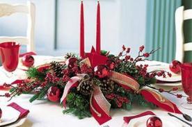 Feliz Navidad: Como hacer un centro de mesa navideño