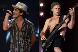 Red Hot Chili Peppers y Bruno Mars remecerán juntos el Super Bowl