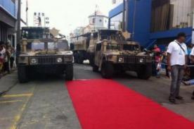 Esto es Guerra: Gran polémica por uso de vehículos del Ejército Peruano