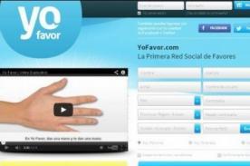 Yofavor: Crean red social para realizar favores